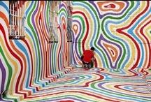 Kleur / Vormgevers, kunstenaars, drukkers - ze werken bijna altijd met kleur