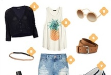Outfit Inspiration - Camping Vacation / An outfit inspired by what I would wear if I was going camping