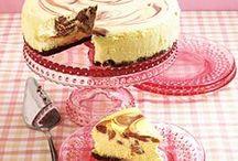 Cheesecake and Fridge tarts / Cheesecake and Fridge tarts