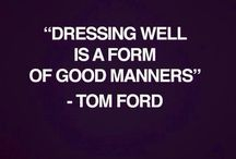 Style manners..