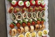 Finger-foods.   Sweet and Savoury.. / Finger-foods.     Sweet and Savoury.