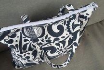 Bags by CsKata Boltja / Saját magam által varrt táskák textilből.