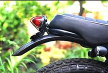 honda GL III / megapro street tracker / custom motorcycle