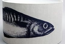 Mackerel / To us, the image of a mackerel is synonymous with Cornwall, and we think you'll agree that this design is just bound to become a best seller!