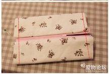 sewing pattern makeup bag