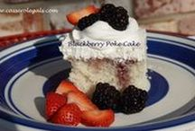 Poke Cakes / Great way to have you cake and eat it too!