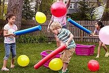 Inside and Outside Fun for Kids! / Games and Activities for the Outdoors
