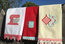 Sewing for the Kitchen / Sewing ideas to spruce up your kitchen