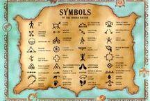 Tattoo Symbols / Dövme sembolleri, ait oldukları kültürler ve anlamları.