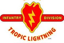 "25th Infantry Division "" TROPIC LIGHTNING"""