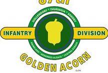 "87th Infantŕy Division ""GOLDEN ACORN"""