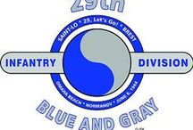 "29th Infantry Division ""BLUE AND GRAY"""