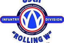 "89th Infantry Division ""ROLLING W"""