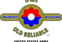 "9th Infantry Division ""OCTFOIL"" ""OLD RELIABLES"""