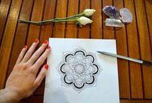 Mandalas, doodling and more