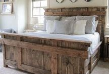 Gorgeous Wood Furniture / Raw wood, reclaimed wood, all wood furniture that catches my eye!