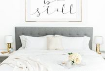 Gorgeous Bedrooms / Bedding, furniture, decor, window treatments, everything bedroom.