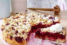 Kuchen Rezepte - Cake Recipes / Sonntags ist Backtag und Kuchen geht doch wirklich immer. Ob vom Blech, mit Früchten oder mit Streuseln - es gibt so viele Kuchenideen die für bunte Abwechslung auf dem Kuchenbuffet sorgen.