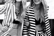 Stripes are women's best friend!
