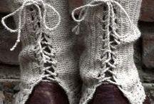 Móda a doplňky / Inspirace na ruční práce - pletení, háčkování, šití ........