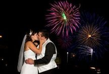 4th of July Wedding Inspiration / If you're going do a 4th of July weekend wedding, go all out with these great ideas!