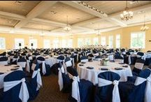 VT Full Room Set-Ups / Pictures of Liberty Hall, the Patriots Room, and Stars and Stripes all set up for beautiful weddings/ events