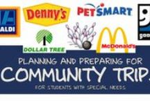 Community (Special Education) / Preparing students with special needs for community trips and outings.