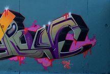 Graffiti Bearone! / My graffiti paintings!