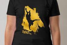 T-paitapainatukset || T-shirt prints / Luhola Graafiumin suunnittelemia t-paitapainatuksia || T-shirt prints designed by Luhola Graafium