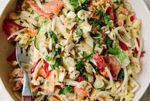 Super Salads / Salads don't have to be boring! Here you'll find recipes for traditional green salad, fruit salad, potato salad and everything in between