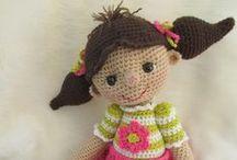 Háčkované panenky (crochet doll)