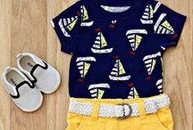 Boys Spring & Summer Fashion / Lookin' cool in the warm sun!