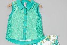 Girls Spring & Summer Fashion / Top picks for fun in the sun