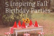 Birthday Bash / Throw a party they'll remember!