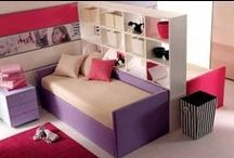 Girl Space / Design ideas for girls' bedrooms or playspace.