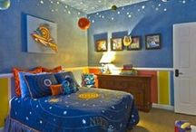 Boy Space / Design ideas for boys' bedrooms or playspace.