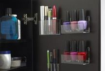 Storage Solutions / Organize that clutter!