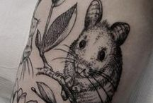 Chinchilla Tattoos