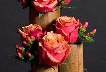 Floral arrangements/hanging flowers