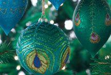PEACOCK / Color Christmas