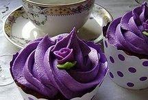 Cupcakes purple 4
