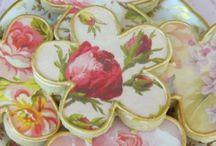 Cookies beautiful,flower,pink