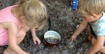 Modderen | Op Stoom / Wij zijn niet vies van een beetje modder. Het prikkelen van de zintuigen, het experimenteren en de verbondenheid met de natuur draagt bij aan de ontwikkeling van kinderen.