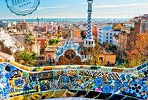Next Stop: BARCELONA / View the original and breathtaking architecture, experience the traditional catalan dancing, enjoy the bird eye view of the city, savor wine and tapas in the Gothic quarter and relax at one of Barcelona's beach, yes, this is life to enjoy!