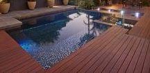 Pool Decking / Pool Decking installed by Deking Decks. Servicing Brisbane the Gold Coast and Sunshine Coast