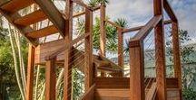Deck Handrails and Walkways / Deck Handrails and Walkways built by Deking Decks servicing Brisbane, the Gold Coast and Sunshine Coast