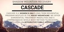 Our Cascade, Colorado addiction treatment center for women / At Shadow Mountain Recovery we provide a continuum of care. This means that we offer programming for every level of addiction treatment & provide ongoing support. Our well-rounded treatment experience nourishes the spirit & helps to establish new life patterns through the application of effective therapeutic resources. These clinical resources are coupled with the philosophy of 12 Step recovery & engaging physical & recreational activities as an outlet for self-expression.