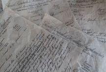Boeken-Brieven-Notitie boekjes inspiratie / Books, letters and their inspiring environment-tutorials for mini and notebooks.