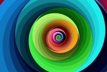 Spiraal dans - Fractal Art - Mandela's / The word silent in me when I go to all this beauty look