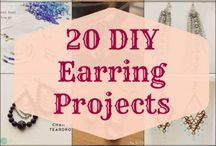 Jewelry EARRING 2  Projects....Inspiration......tips....Turials / Here I become happy, all beautiful things which I would like to try out